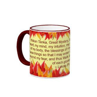 lakota prayer mug