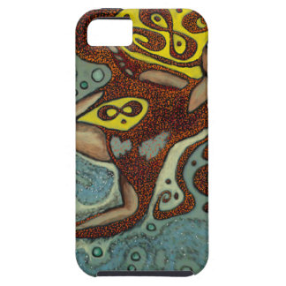 lakshimi in copper on the beach iPhone 5 case