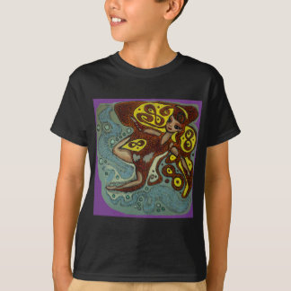 lakshimi in copper on the beach T-Shirt