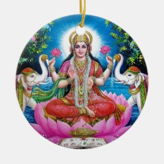 Lakshmi Goddess of Love, Prosperity, and Wealth Christmas Ornament
