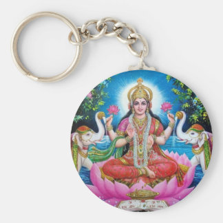Lakshmi Goddess of Love, Prosperity, and Wealth Key Ring