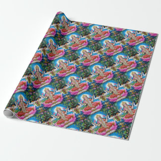 Lakshmi Goddess of Love, Prosperity, and Wealth Wrapping Paper