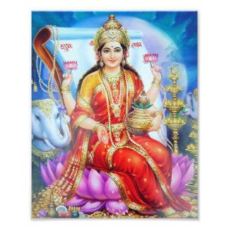 """Lakshmi Print (8"""" x 10"""") - Version 1"""