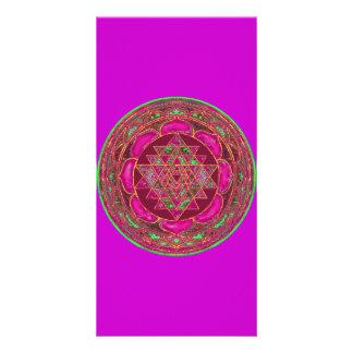 Lakshmi_Yantra_mandala Picture Card