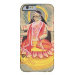 Laksmi sitting on a throne of lotus leaves, c.1890 barely there iPhone 6 case