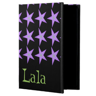 Lala 31413; Purple and Green iPad Air 2 Case.