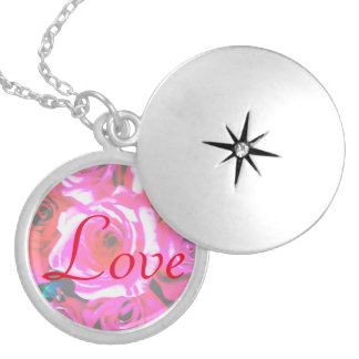 Lala 3471; Love Rose Necklace