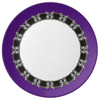 Lalabutterfly Porcelain Plates