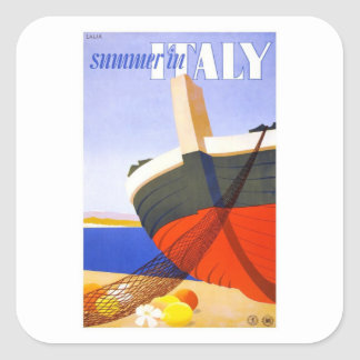 Lalia Summer In Italy Square Sticker