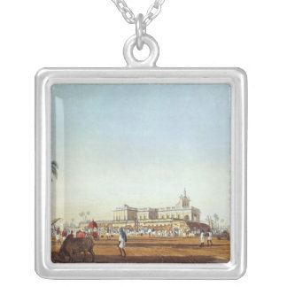 Lall Bazaar and the Portuguese Chapel Silver Plated Necklace