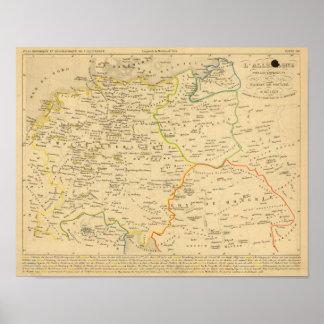 L'Allemagne 1137 a 1273 Poster