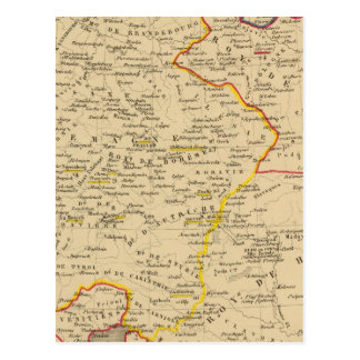 L'Allemagne 1373 a 1437 Postcard