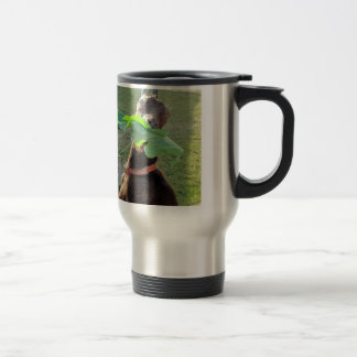 Lamancha Goat Travel Mug