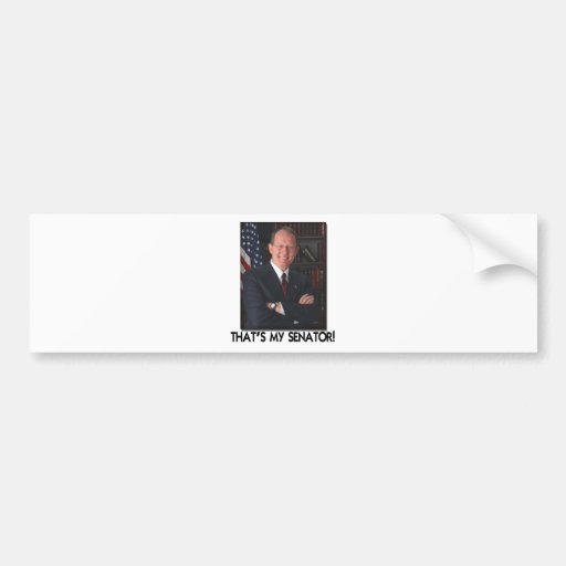 Lamar Alexander, That's My Senator! Bumper Sticker