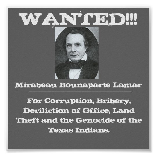 Lamar Wanted Poster