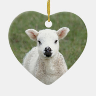 Lamb Christmas Ornament