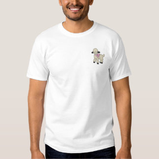 Lamb Embroidered T-Shirt