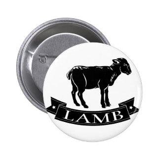 Lamb food icon button