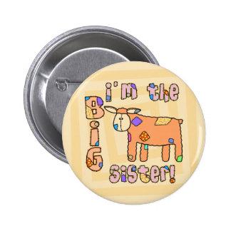 Lamb I m the Big Sister Pinback Buttons