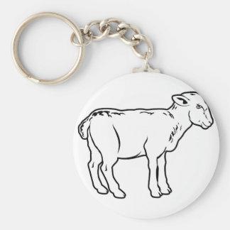 Lamb Keychain