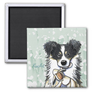 Lamb Lover Border Collie magnet