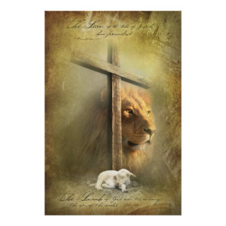 LAMB OF GOD - Christian Religious Posters