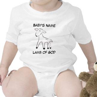 Lamb of God Customizable Baby Creeper