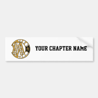 Lambda Chi Alpha Badge Bumper Sticker