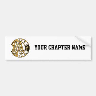 Lambda Chi Alpha Badge Bumper Sticker