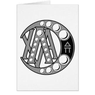 Lambda Chi Alpha Badge Card