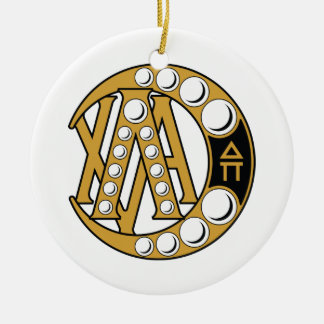 Lambda Chi Alpha Badge Christmas Ornament