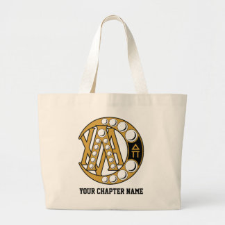 Lambda Chi Alpha Badge Large Tote Bag