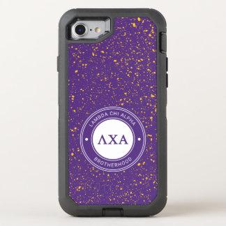 Lambda Chi Alpha | Badge OtterBox Defender iPhone 8/7 Case