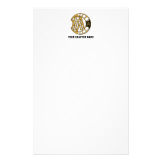 Lambda Chi Alpha Badge Stationery