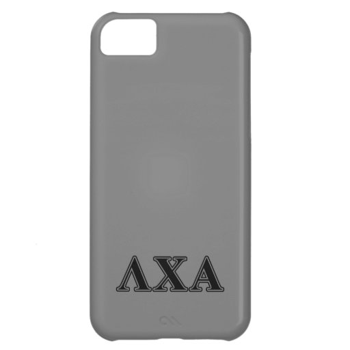 Lambda Chi Alpha Black Letters iPhone 5C Cover