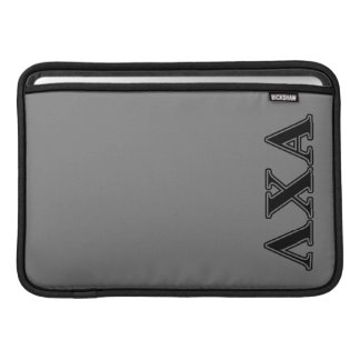Lambda Chi Alpha Black Letters Sleeve For MacBook Air