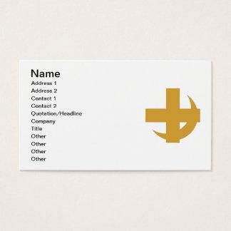 Lambda Chi Alpha Cross & Crescent Business Card