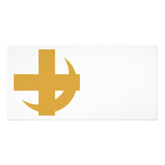 Lambda Chi Alpha Cross & Crescent Card