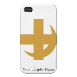 Lambda Chi Alpha Cross & Crescent Case For The iPhone 4