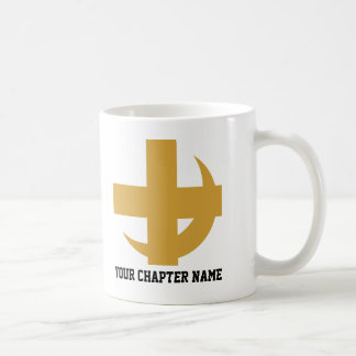 Lambda Chi Alpha Cross & Crescent Coffee Mug