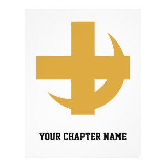 Lambda Chi Alpha Cross & Crescent Flyer
