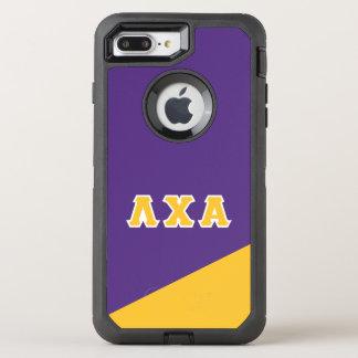 Lambda Chi Alpha | Greek Letters OtterBox Defender iPhone 8 Plus/7 Plus Case