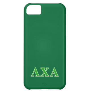 Lambda Chi Alpha Green Letters Cover For iPhone 5C