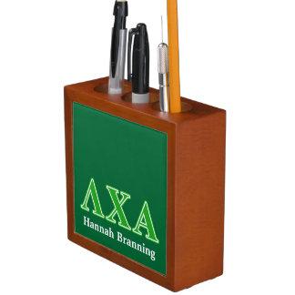 Lambda Chi Alpha Green Letters Desk Organiser