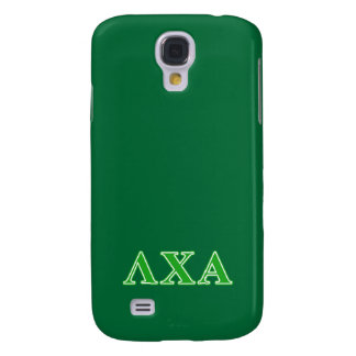 Lambda Chi Alpha Green Letters Galaxy S4 Case