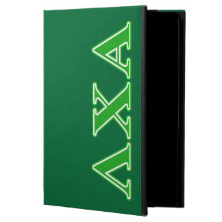 Lambda Chi Alpha Green Letters iPad Air Cover