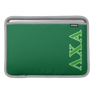 Lambda Chi Alpha Green Letters Sleeve For MacBook Air