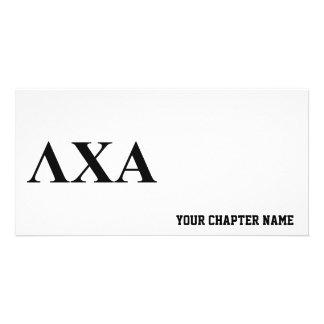 Lambda Chi Alpha Letters Card