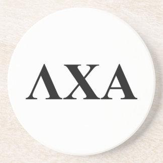 Lambda Chi Alpha Letters Coaster
