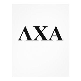 Lambda Chi Alpha Letters Flyer
